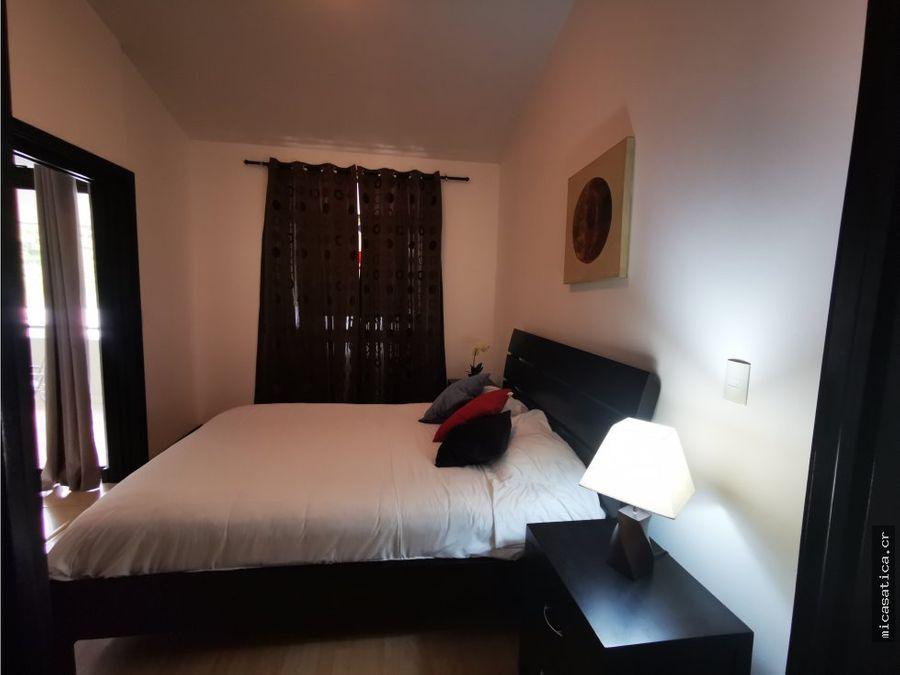 alquiler de apartamento amoblado 1 habitacion condominio en santa ana