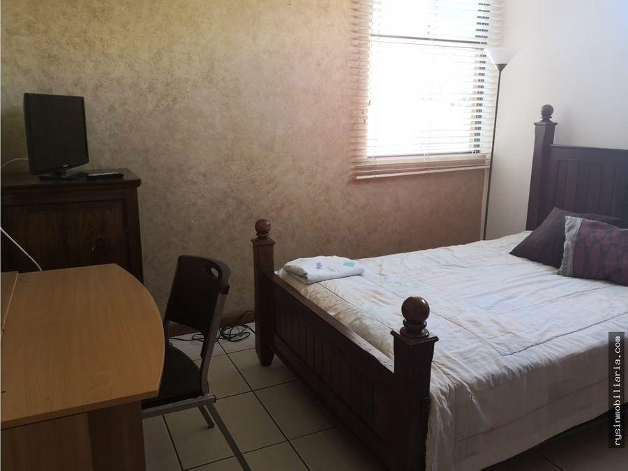 apartamento amueblado en renta en zona 14
