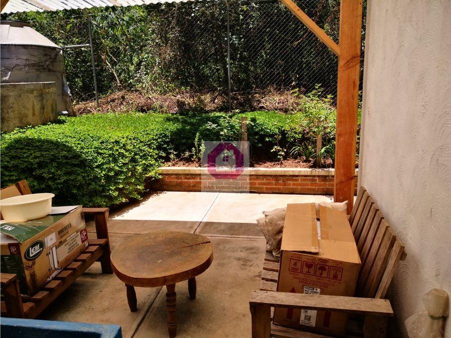 apartamento independiente con jardin el encinal