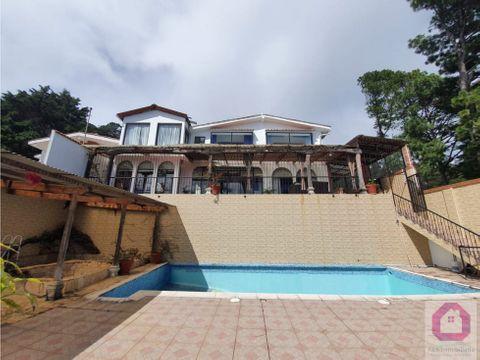 casa premium en venta en el encinal vista panoramica