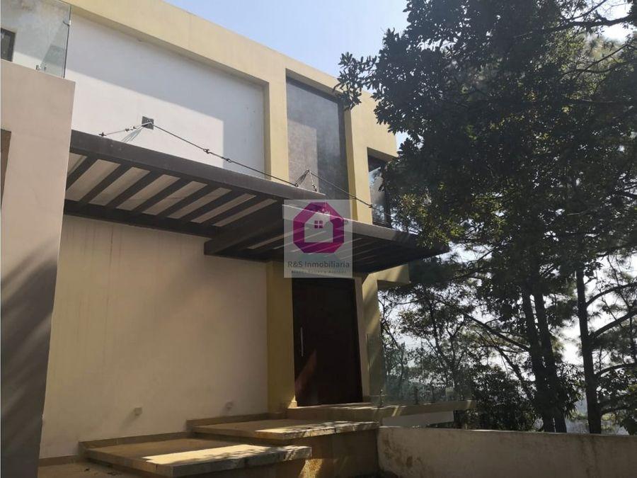 casa con acabados de lujo en venta el encinal