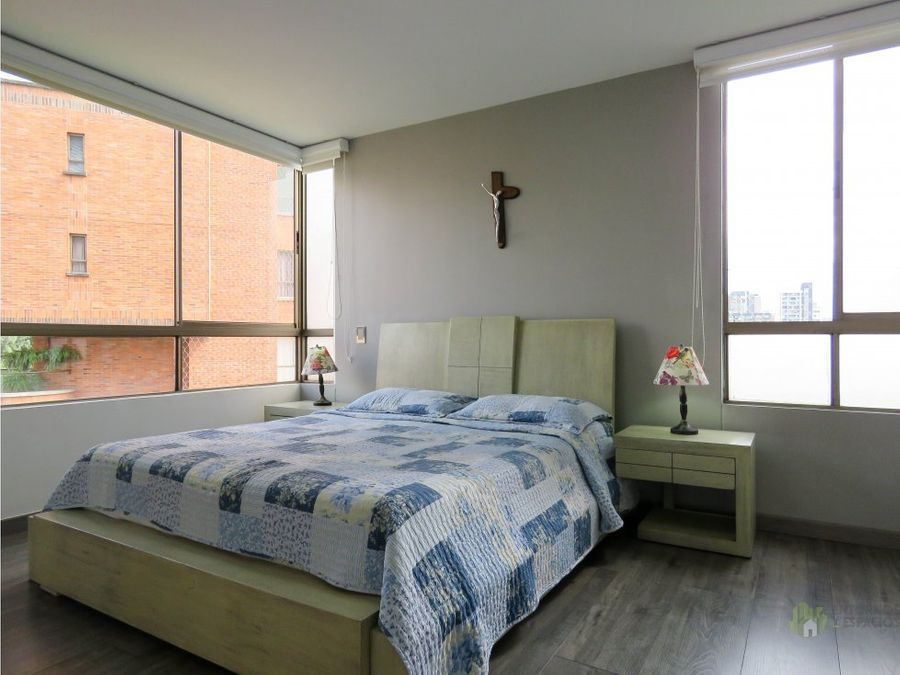 hermoso apartamento en renta amoblado en poblado