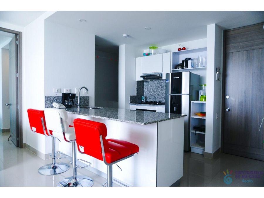 apartamento 2 alcobas bocagrande mc0001