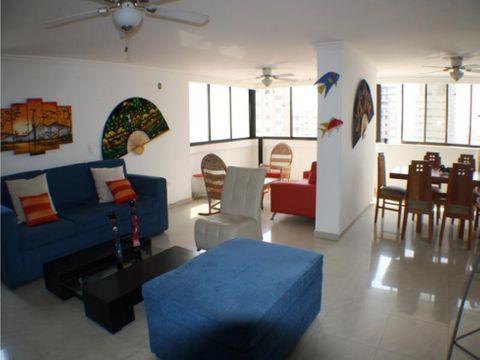 venta apartamento bocagrande 3 alcobas