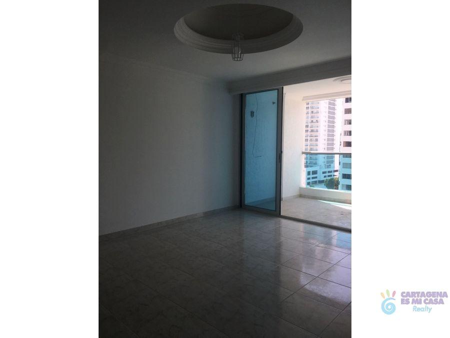 apartamento 2 alcobas bocagrande tcll0011
