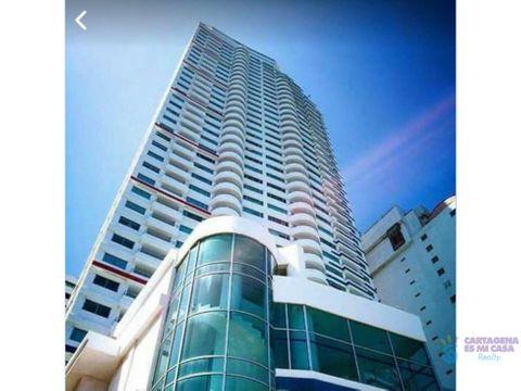 venta apartamento en bocagrande edificio palmetto p001