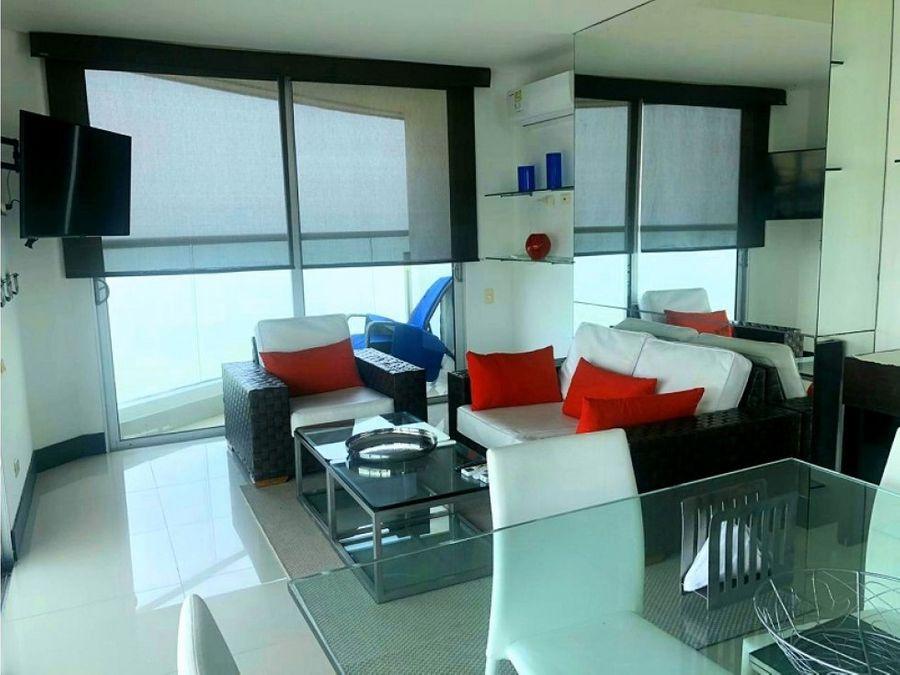 apartamento en venta 3 alcobas frente al mar pe3301