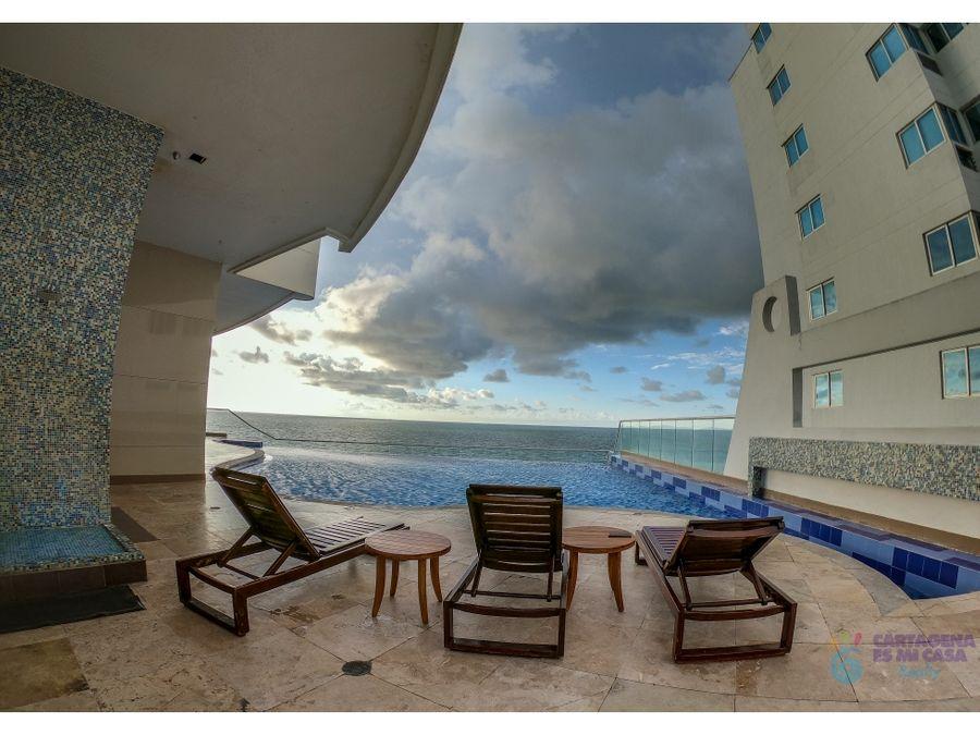 apartamento 3 alcobas vista al mar edificio palmetto eliptic
