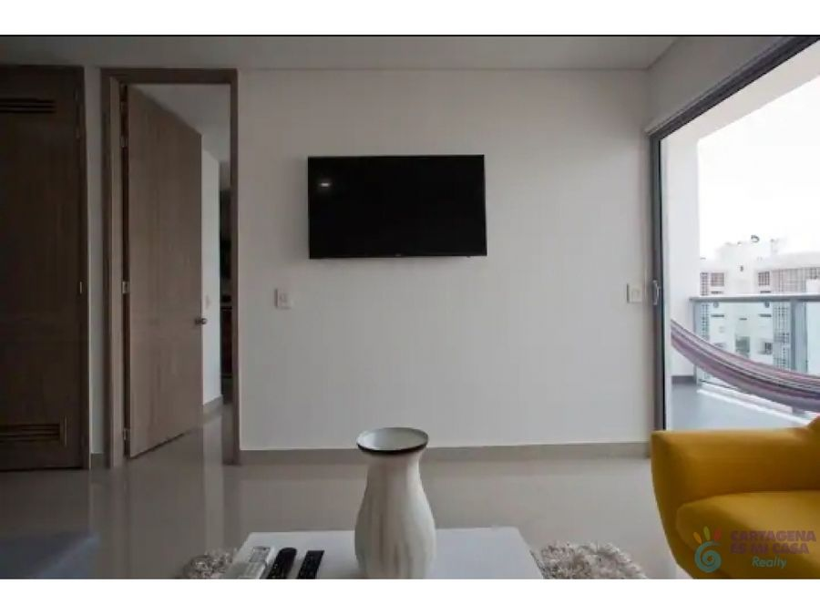 apartamento 1 alcoba bocagrande inf0005
