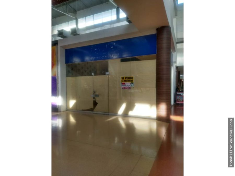 vendo local centro comercial guatapuri