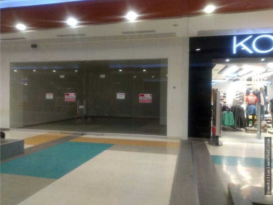 arriendo local centro comercial unicentro
