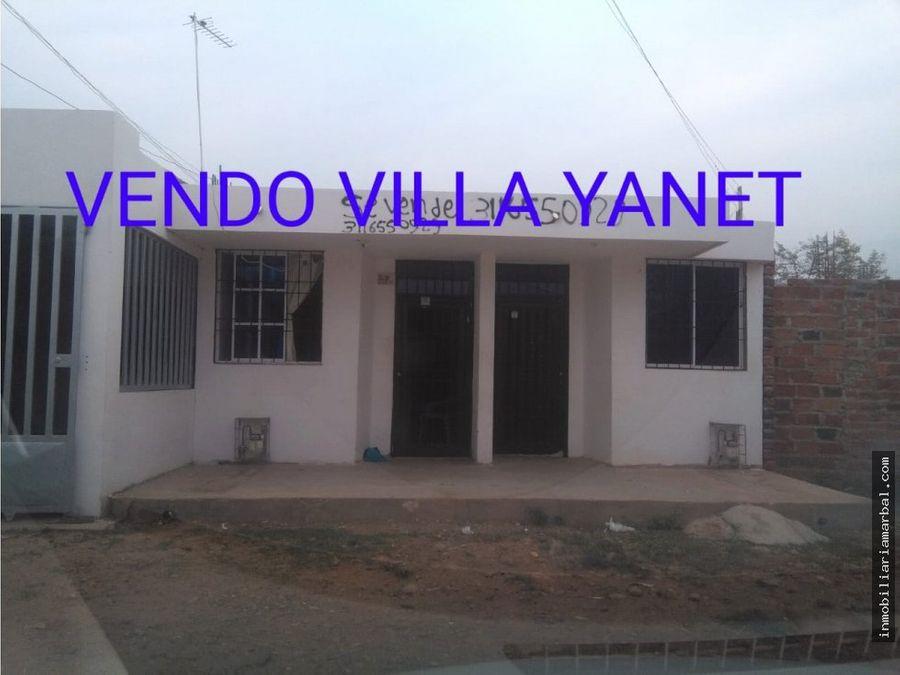 vendo casa villa yaneth