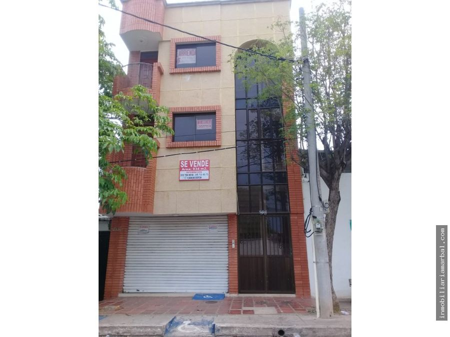 se vende edificio barrio san joaquin
