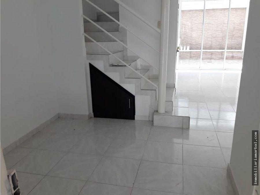 vendo casa conjunto cerrado acuarela