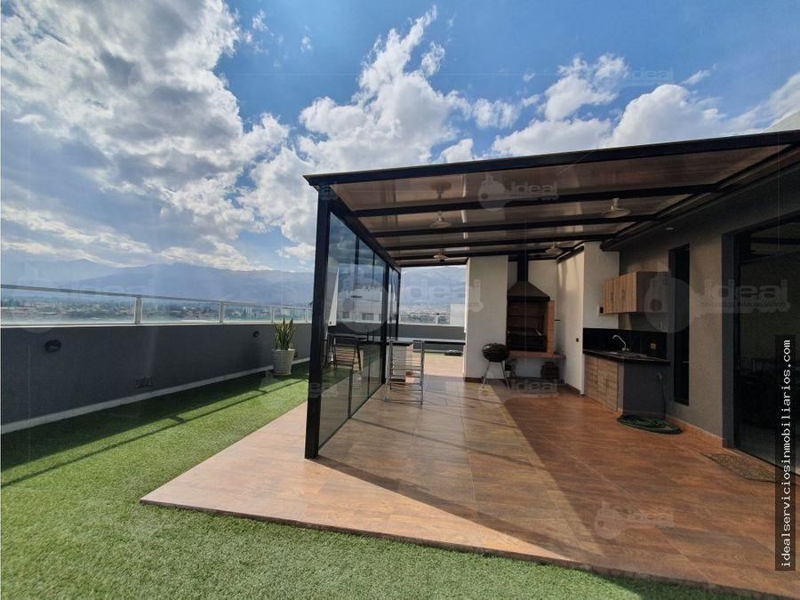 hermoso duplex zona sarcobamba