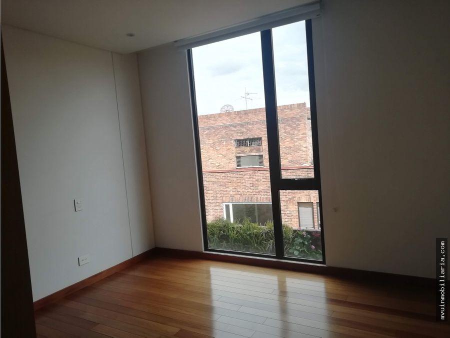 arriendo apartamento los rosales 250m2 terraza