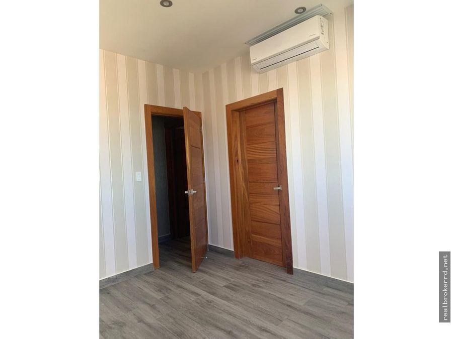 rento apartamento con linea blanca ensanche naco
