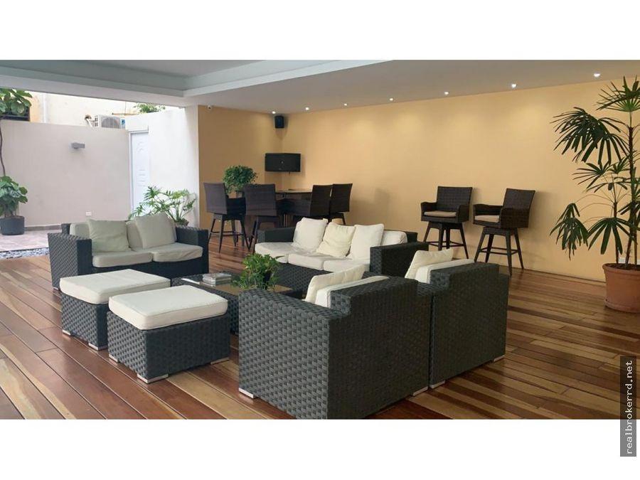 rento apartamento en piantini
