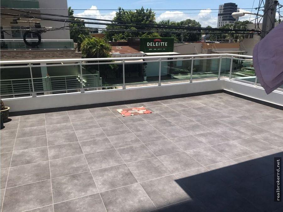 venta de apato 2da y terraza en el millon sto dgo