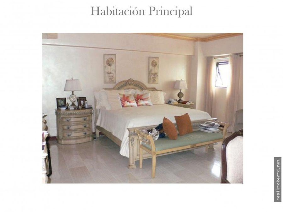 venta de penthouse en paraiso santo domingo