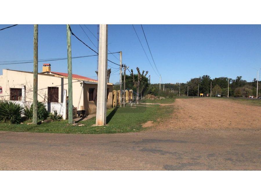 casa y terreno en by pass y 12 de setiembre