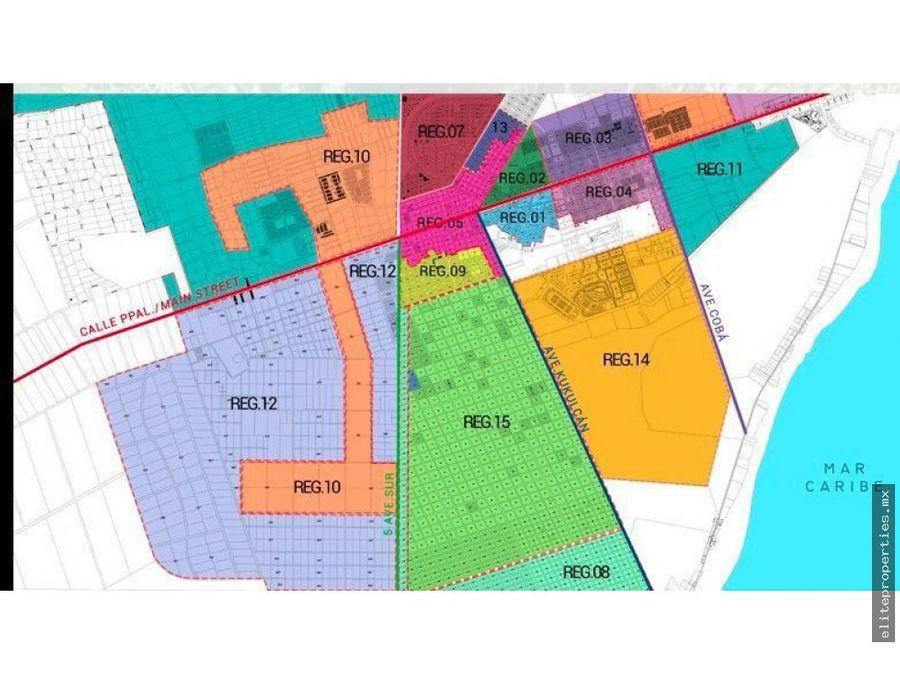 lotes con estupenda ubicacion en tulum region 15 mza 62