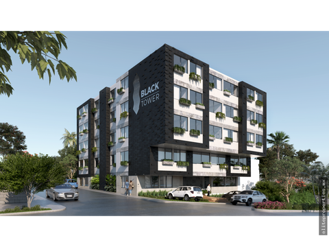 venta departamento black tower playa del carmen