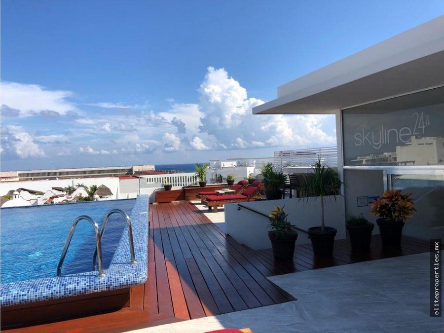 lujoso penthouse en skyline playa del carmen