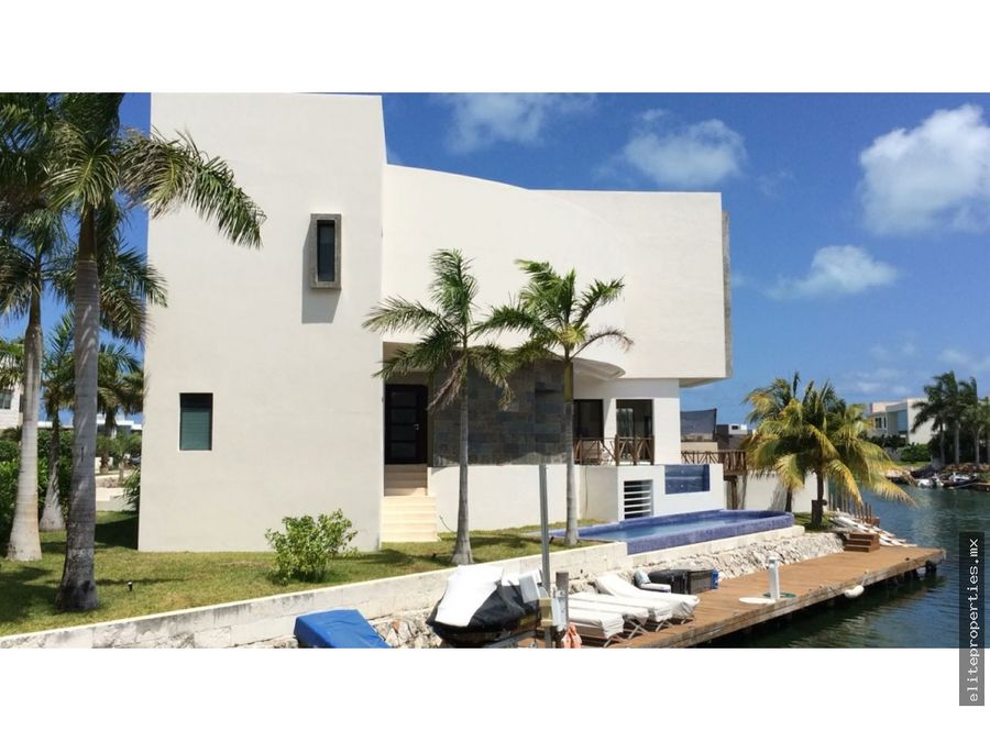 venta de hermosa casa en puerto cancun