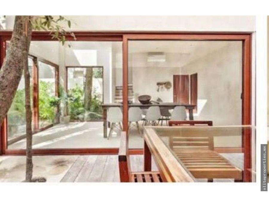 lujosa casa en holistika tulum