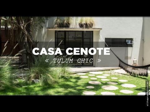 venta casa cenote tulum