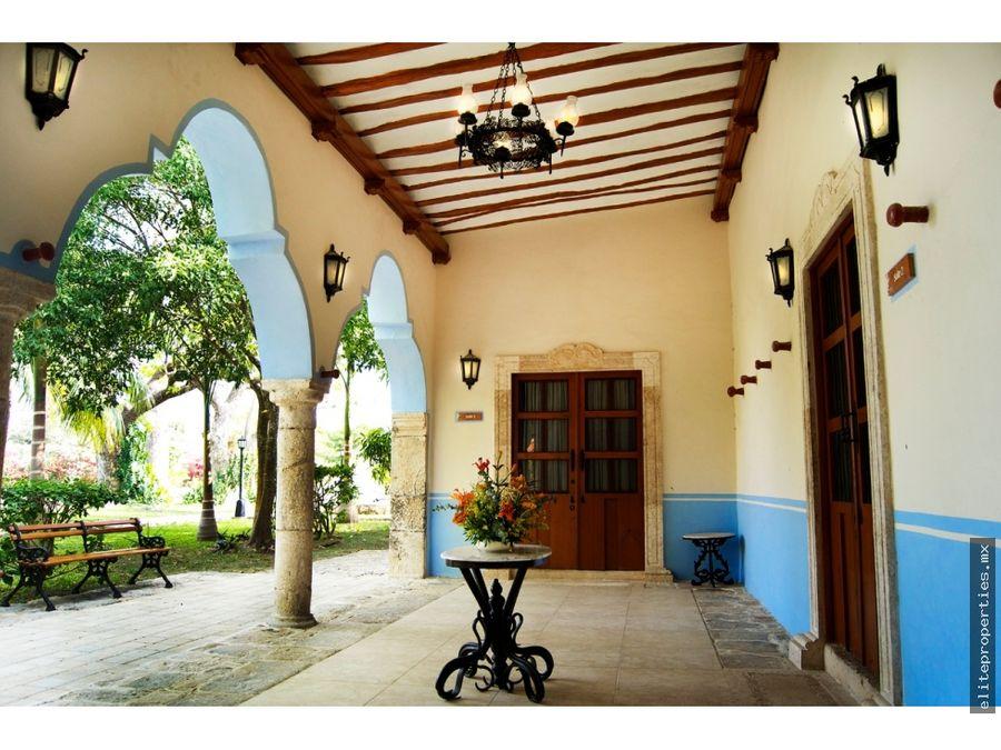 preciosa hacienda con excelente ubicacion en merida