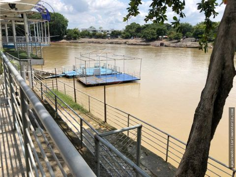 arriendaventa de hotel a orilla del rio sinu