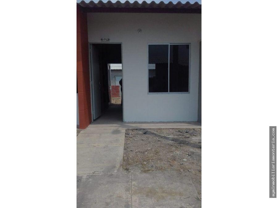 vende casa para estrenar en villa caribe