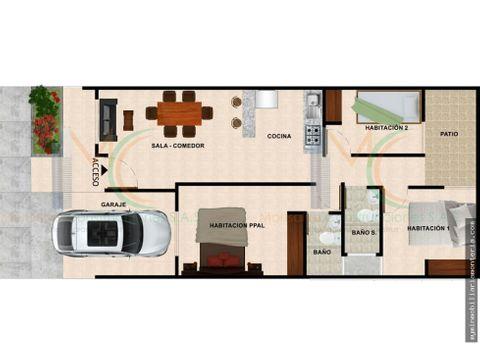 vende casa sobre planos cerca al cc nuestro