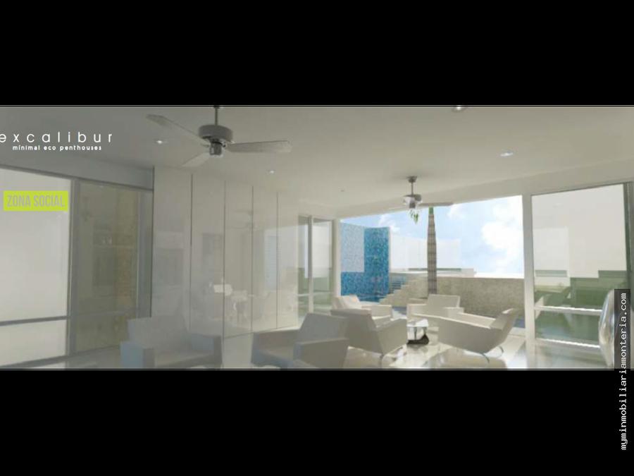 penthouse edificio excalibur