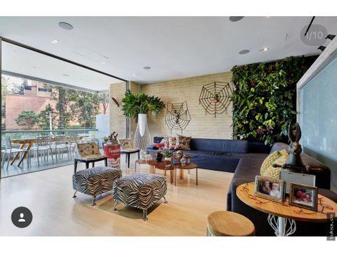 apartamento a la venta zona los balsos i medellin
