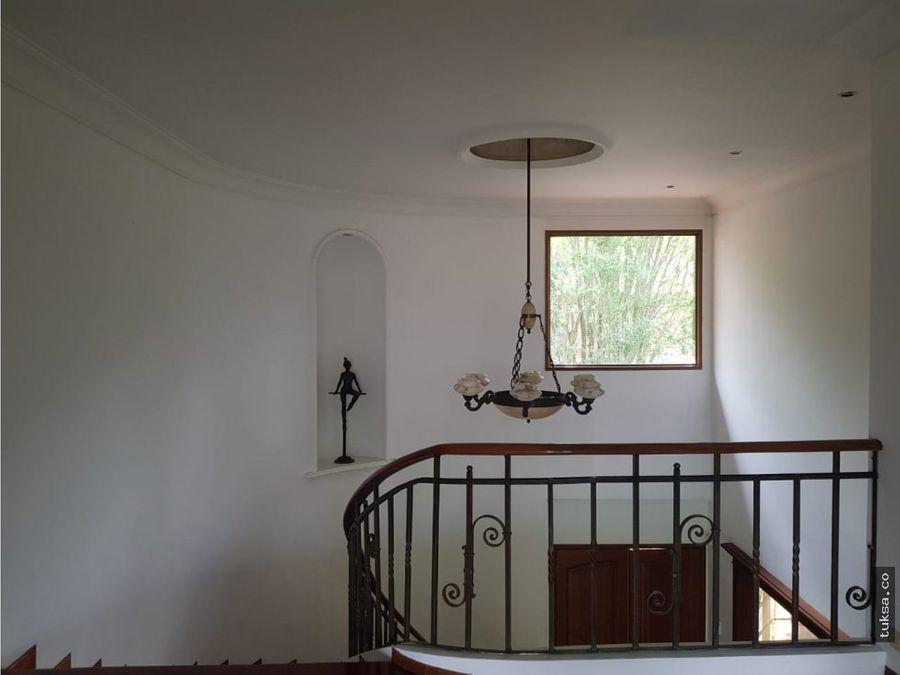 casa en altos del poblado medellin
