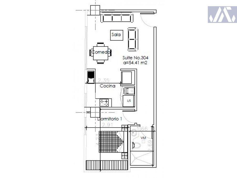 la mariscal suite en venta edificio libertad
