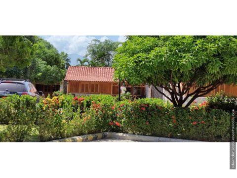 se vende cabana en santa marta colombia