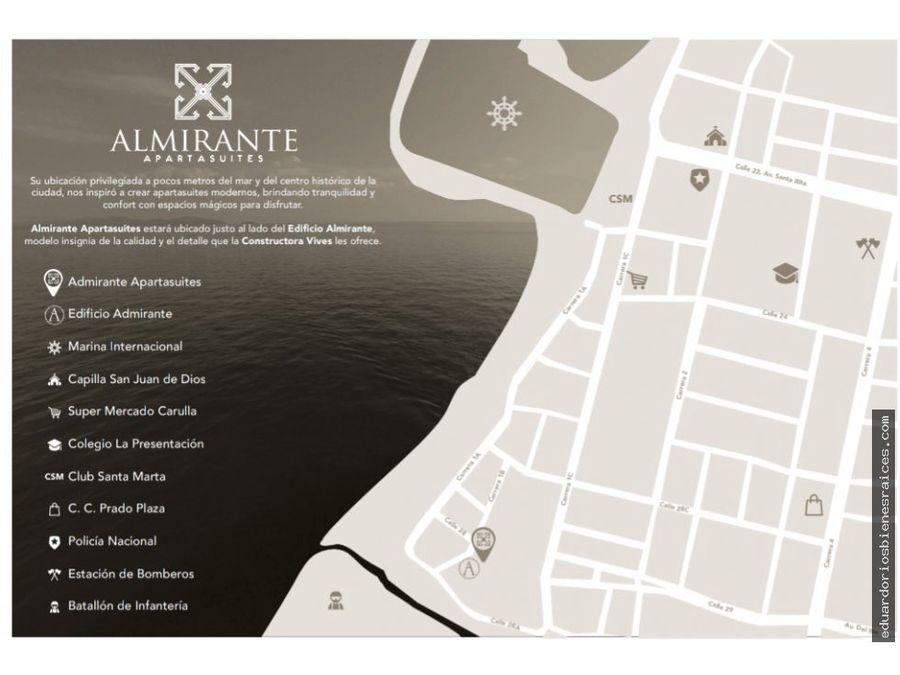 se vende apartasuite en santa marta colombia