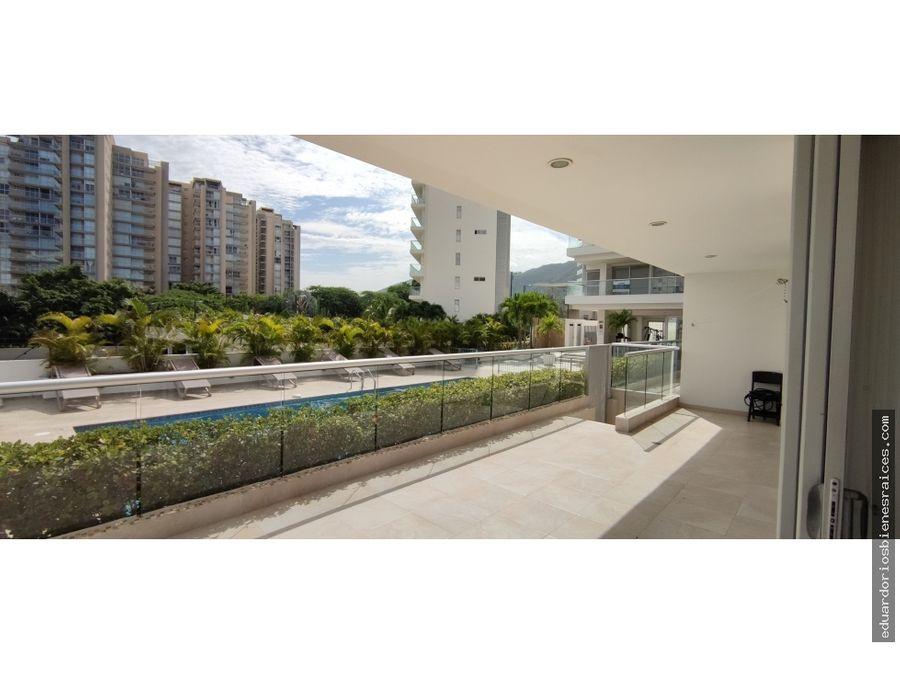 se vende apartamento en bello horizonte santa marta colombia