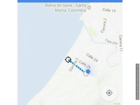 se vende lote en playa salguero a 1300000 x mt2