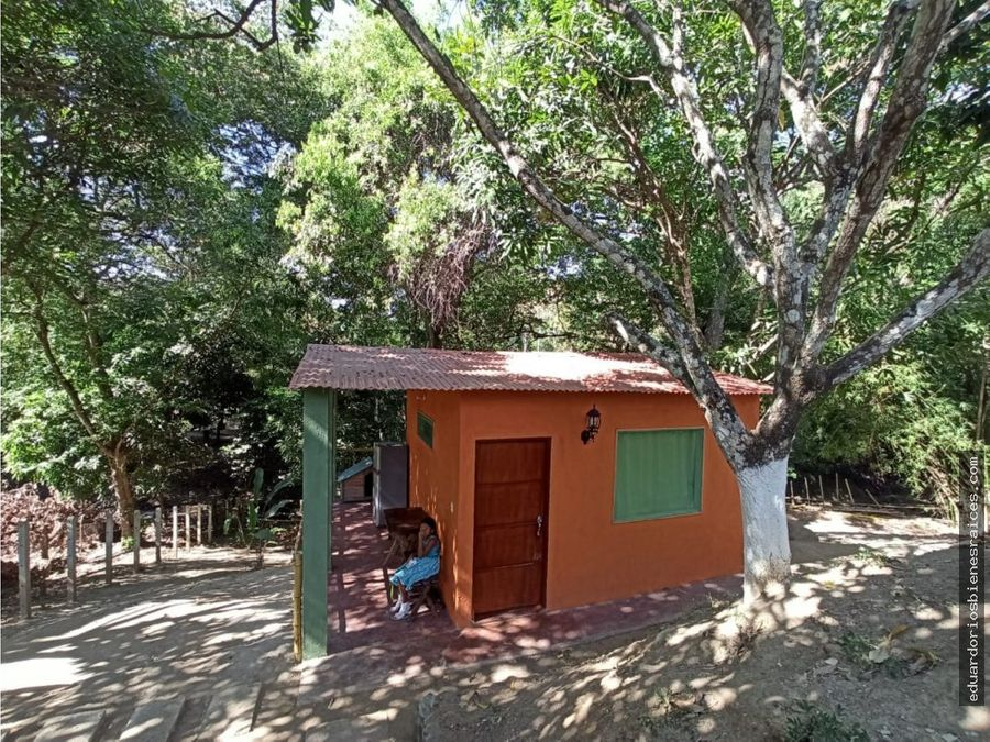 se vende cabana en tigrera minca santa marta
