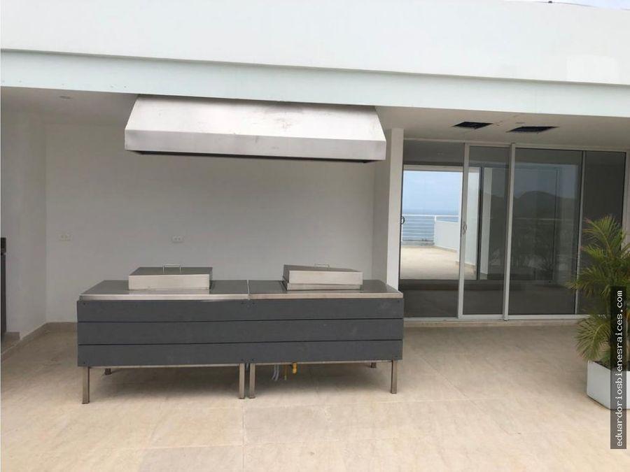 se vende apartamento con vista al mar