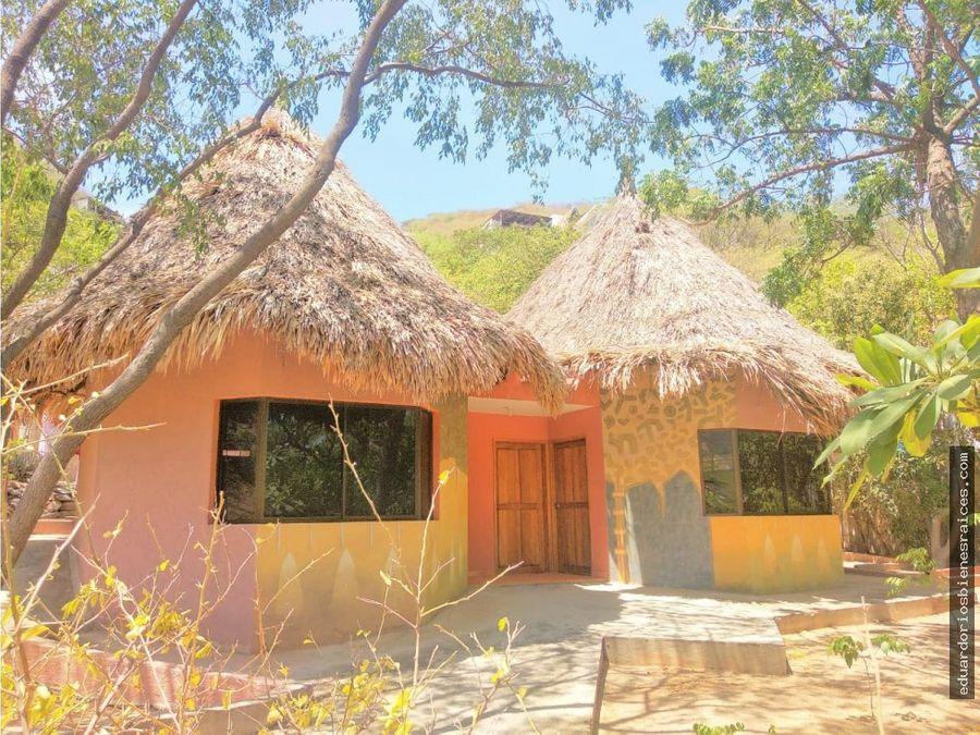 se vende cabana en taganga