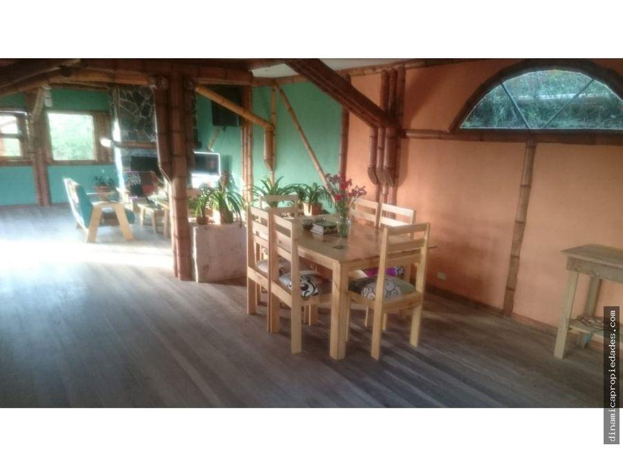 espectacular cabana venta santa elena piedra gorda