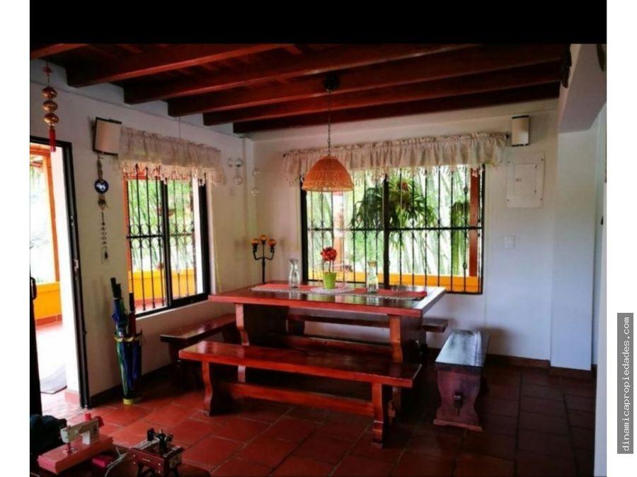 casa campestre en venta en guarne