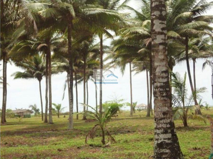 hacienda en muisne junto al mar 169000