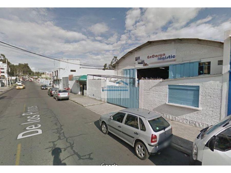 renta bodegas de 1060 m2 av eloy alfaro 4300